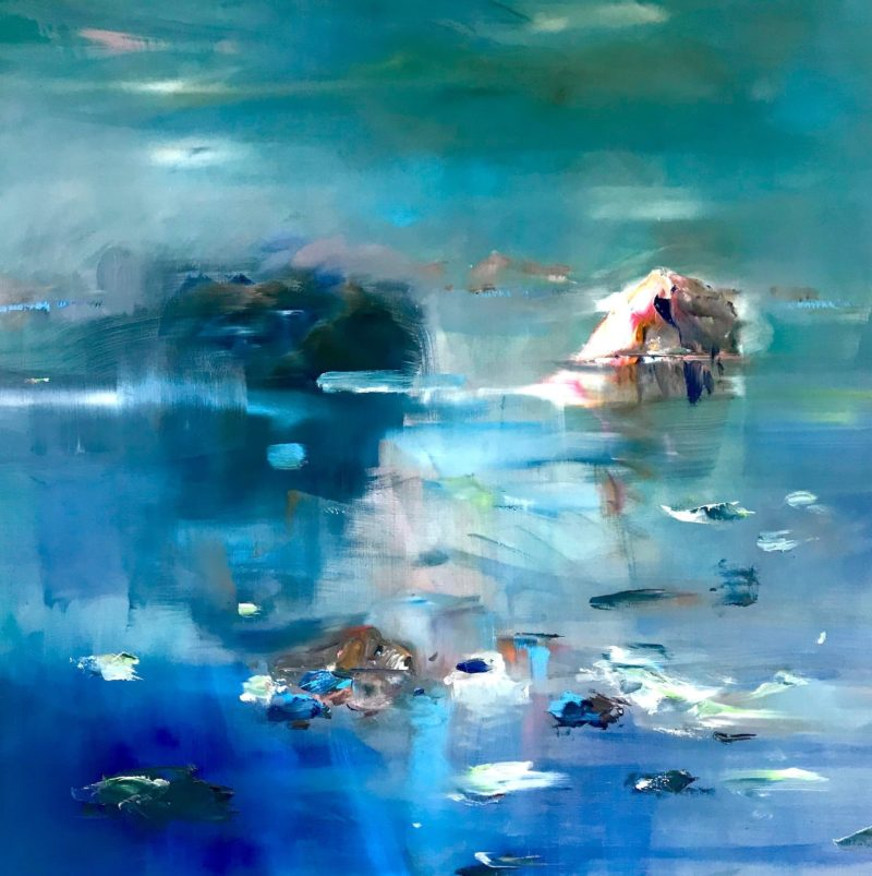 marie-helene-fabra-10-chien-nageant-au-milieu-des-icebergs