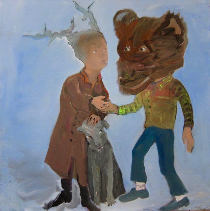 marie-helene-fabra-12-métamorphose-Daphné-sauvée-par-un-ours