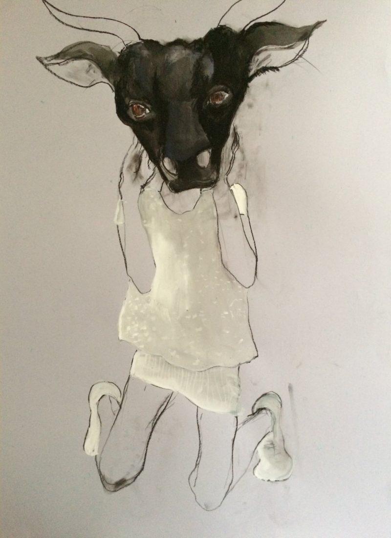 marie-helene-fabra-21-petite-fille-avec-maqque-de-taureau
